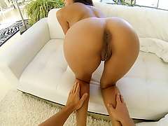Tan hotty acquires fucked