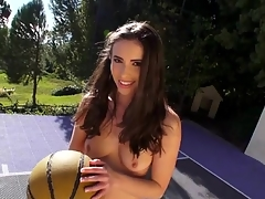 The cutie could get strong orgasms solely from anal destruction