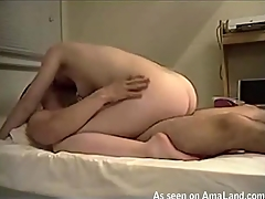 Stud pushes dick in frowardness of angel after banging her anal hole