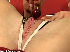Honey is experiencing heavenly pleasures with sex toy play