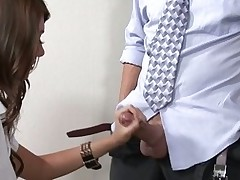 Kinky teacher examines girl