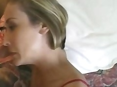 Two absolutely consummate sluts share one hard lucky pecker