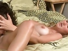 Cutie with wonderful a-hole gets her wet shaved holes drilled